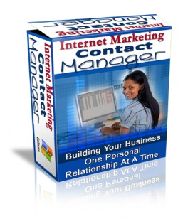 Internet Marketing Contact Manager