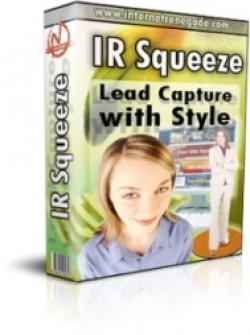 IR Squeeze - Lead Capture With Style