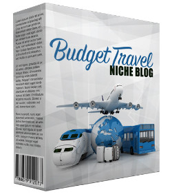 Budget Travel PLR Niche Blog