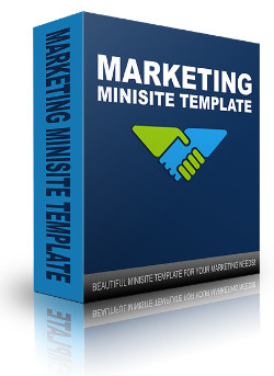 New Marketing Minisite Template