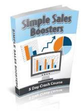 Simple Sales Boosters eCourse